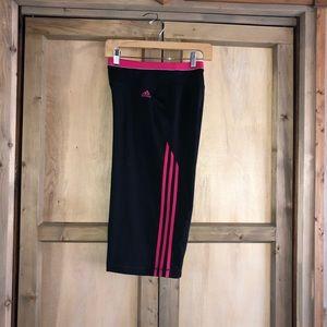 Adidas Women's crop pants capris size xl